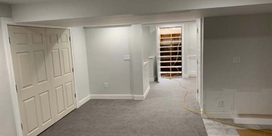 basement remodel MA