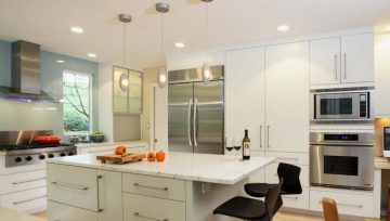 A Clean, Modern Look in Your Kitchen